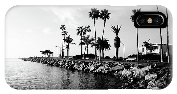 California iPhone Case - Newport Beach Jetty by Paul Velgos