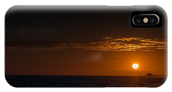 Newport Beach Sunset IPhone Case