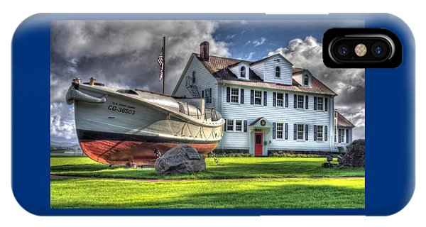 Newport Coast Guard Station IPhone Case