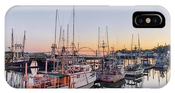 Newport Harbor At Dusk IPhone Case
