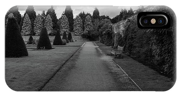 Newstead Abbey Country Garden Gravel Path IPhone Case