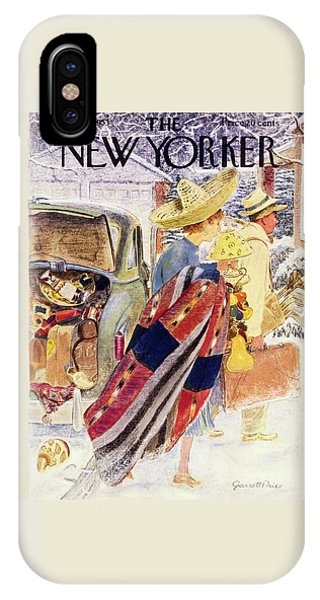 Newyorker January 31 1953 IPhone Case