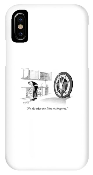 Next To The Spoons IPhone Case