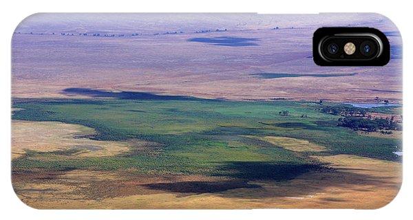 Ngorongoro Crater Tanzania IPhone Case