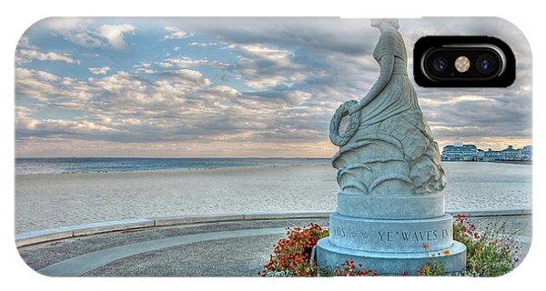 New Hampshire Marine Memorial IPhone Case