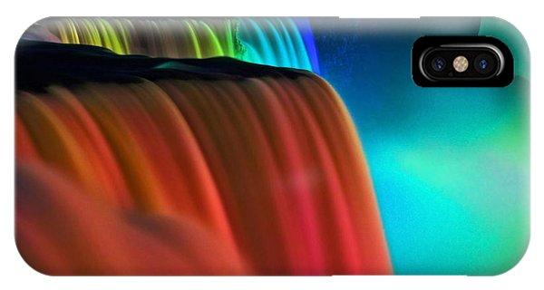 Niagara Falls At Night IPhone Case