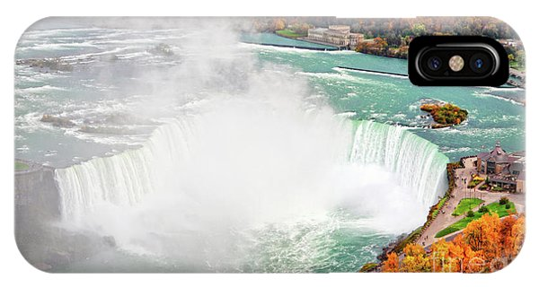 Niagara Falls Autumn IPhone Case