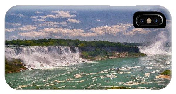 Fall In Niagara Falls IPhone Case