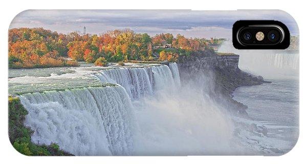 Niagara Falls In Autumn IPhone Case