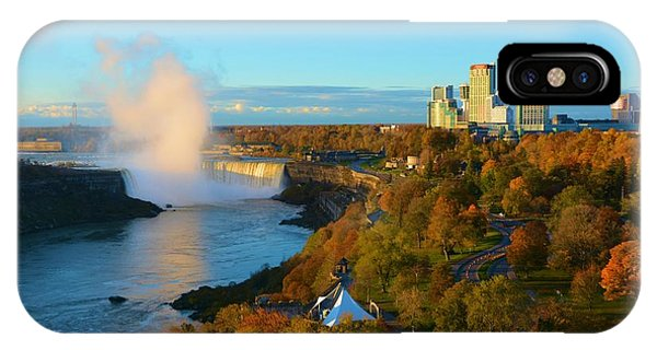 Niagara Horseshoe Falls Autumn IPhone Case
