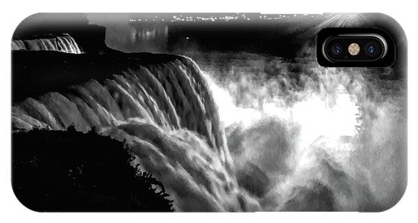 Niagara At Night IPhone Case