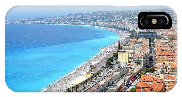 Nice France Coastline IPhone Case