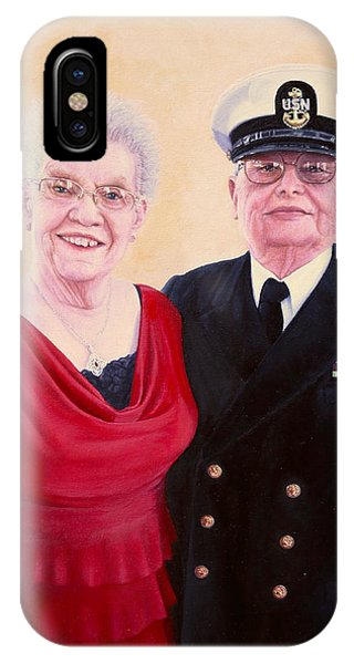 Nichols Portrait IPhone Case