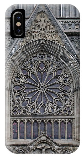 Nidaros Cathedral Stone Ornaments IPhone Case