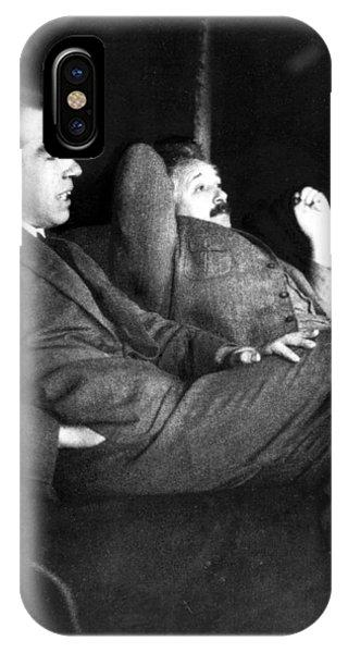 Niels Bohr And Albert Einstein IPhone Case