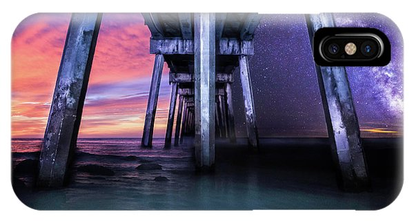 Night And Day Difference- Pensacola Beach Phone Case by Brent Shavnore