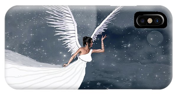 Night Angel IPhone Case