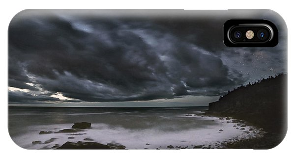 Night At Boulder Beach IPhone Case