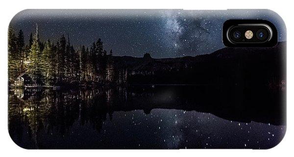 Night At Lake Mamie IPhone Case