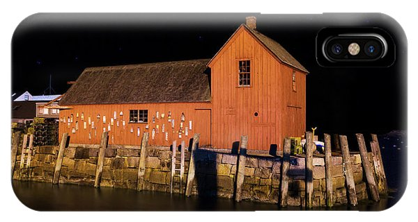 New England Barn iPhone Case - Night At Motif #1 by Stephen Stookey