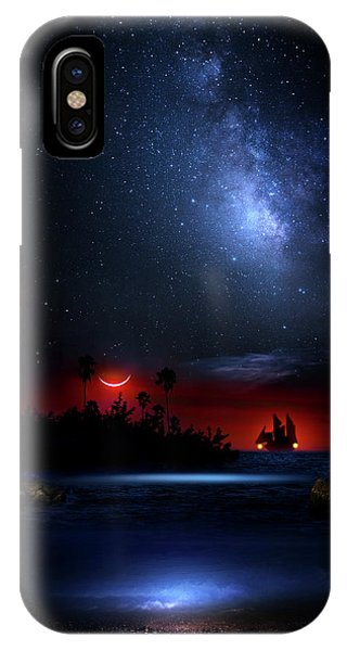 Night At Pirate's Lagoon IPhone Case