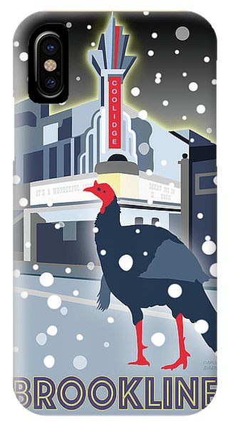 Turkey iPhone Case - Night At The Movies by Caroline Barnes