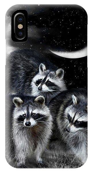 Night Bandits IPhone Case