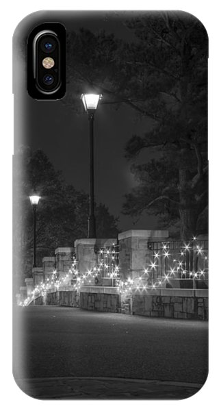 Night Bridge In December IPhone Case