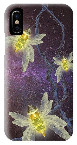 Night Butterflies IPhone Case