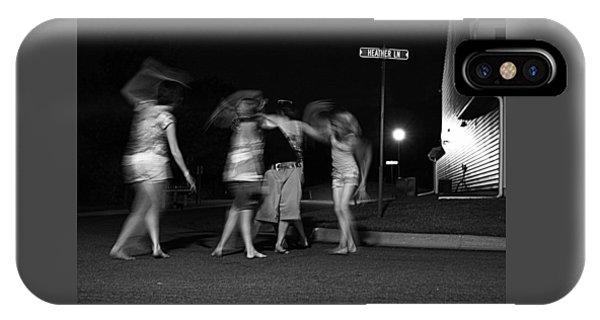 Night Dancing IPhone Case