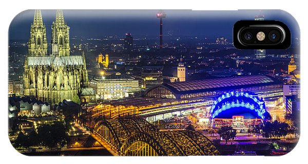 Night Falls Upon Cologne 2 IPhone Case