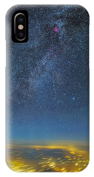 Night Flight IPhone Case