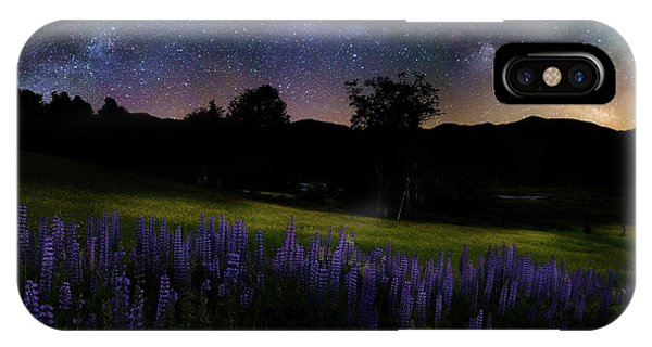 Night Flowers IPhone Case