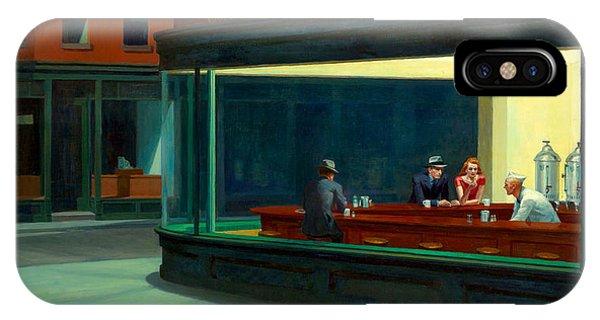 Edward iPhone Case - Night Hawks by Edward Hopper