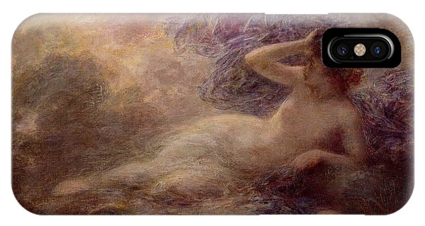 Shrouds iPhone Case - Night by Ignace Henri Jean Fantin Latour