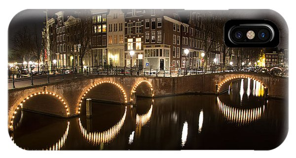 Night In Amsterdam IPhone Case