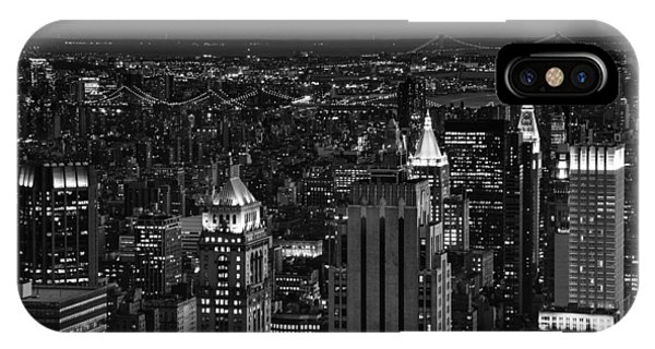 Night In Manhattan IPhone Case