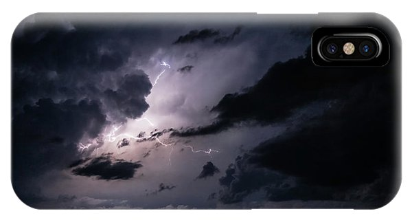 Night Lightening IPhone Case