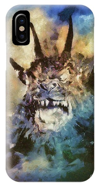 Dracula iPhone Case - Night Of The Demon, Vintage Horror by Mary Bassett