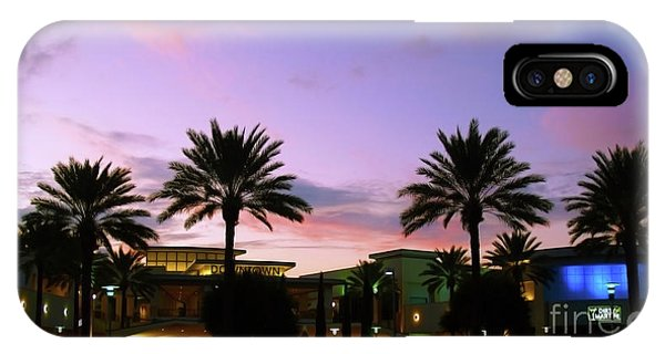 Night On The Town Palm Beach Florida Photo 515 IPhone Case
