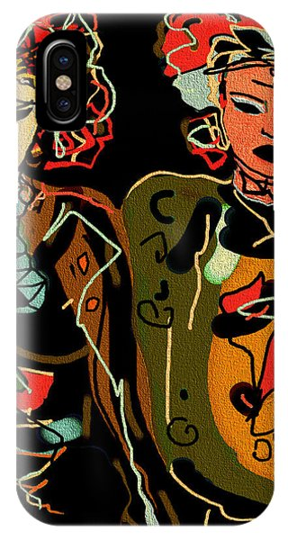 Mustard iPhone Case - Night Out by Natalie Holland