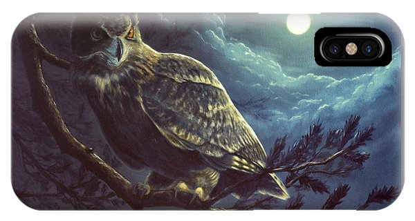 Night Owl IPhone Case