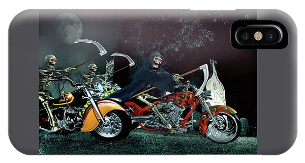Night Riders IPhone Case