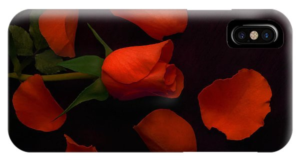 Night Rose 2 IPhone Case