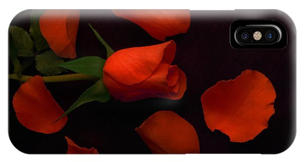 Night Rose 2 IPhone Case