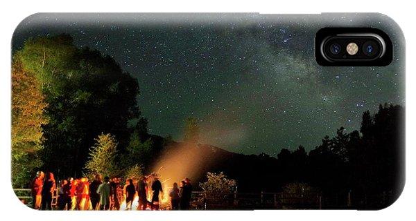 Night Sky Fire IPhone Case