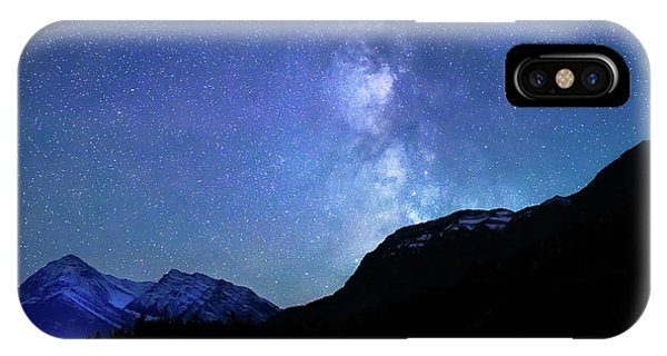 Night Sky In David Thomson Country IPhone Case