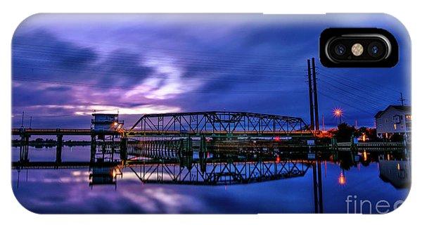 Night Swing Bridge IPhone Case