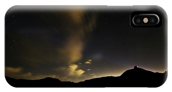 Night Time At Palo Duro Canyon State Park - Texas IPhone Case