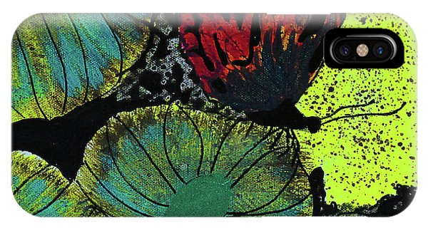 Deep Thought iPhone Case - Night Vision by Keshida Layone